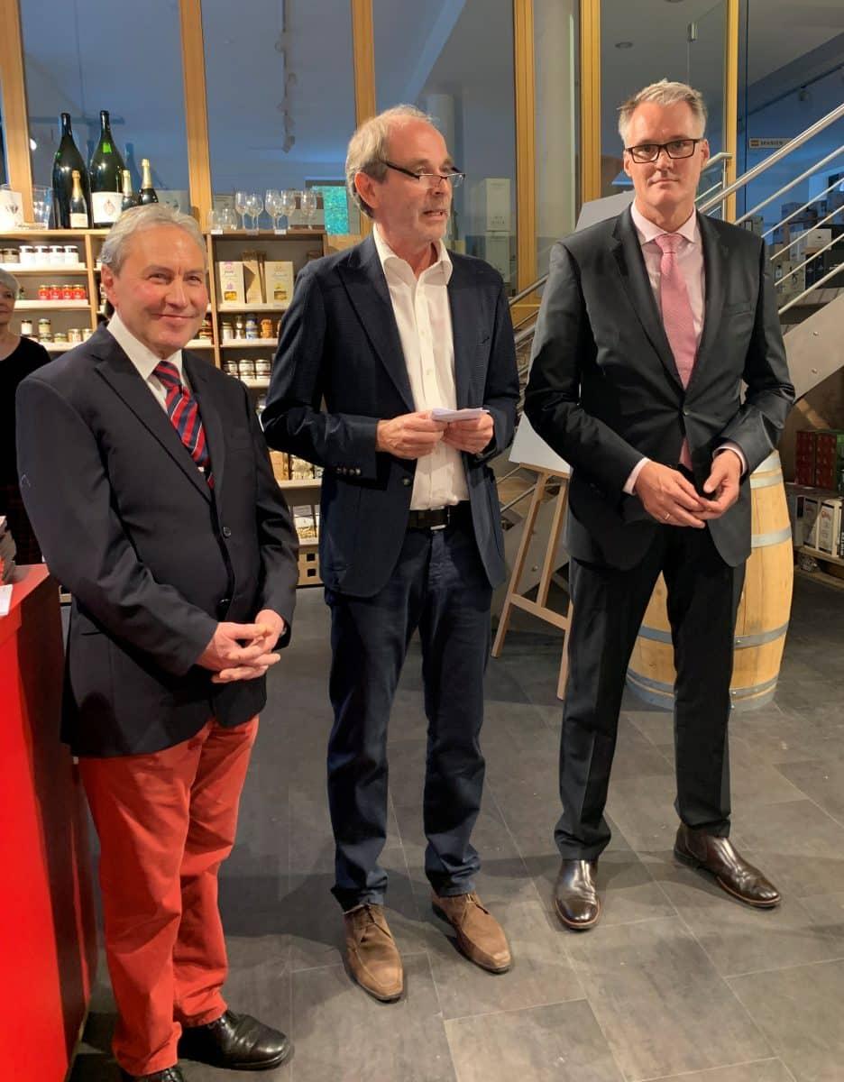 GK-Kaiserswerth v.l. Hans Oskar Franke, Thomas Schumacher, Guido Pukropski