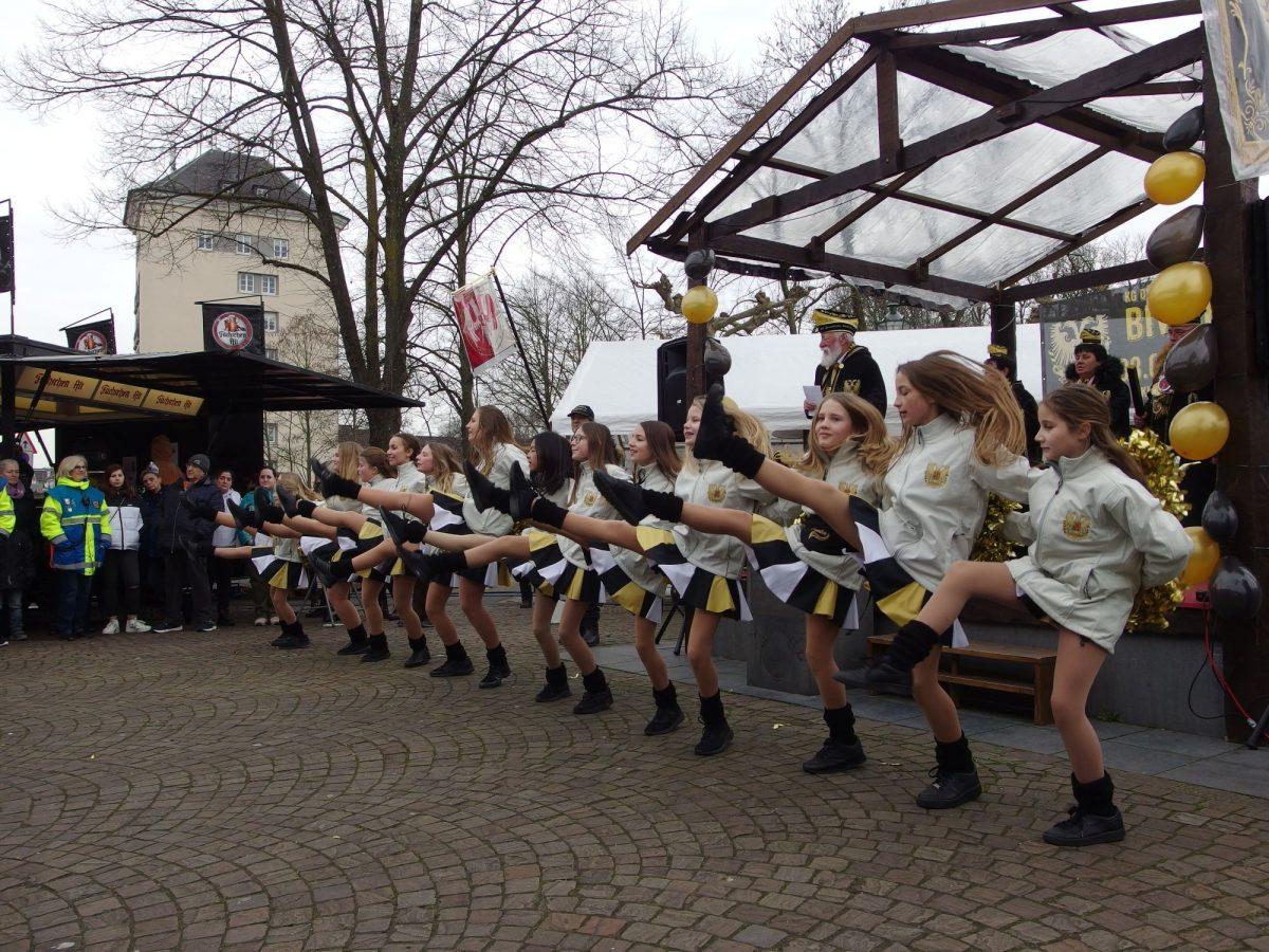 Das Aquila Dance Team ist ein Aushängeschild der KG Düsseldorfer Nordlichter, Fotos: SO