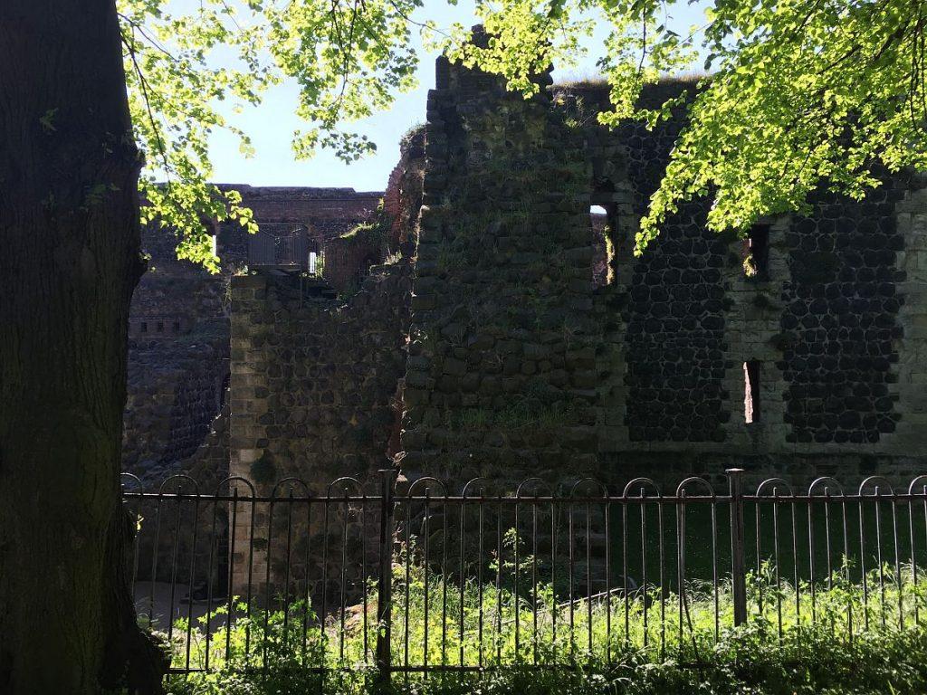Zaun um die Kaiserpfalz